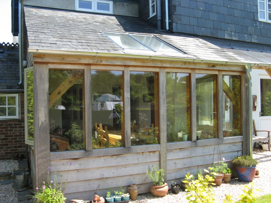 Harberton Timber Frame Conservatory And Veranda T And