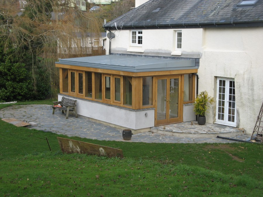 Horsebrook south brent t and s framing for Wooden garden rooms extensions