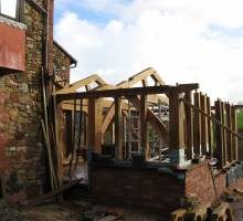 building oak frames exeter