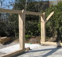 Devon Oak Timber Frame Building