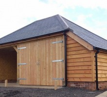 Devon Oak Garage Extension