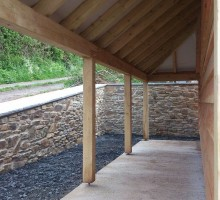 Devon Oak Timber Frame Building