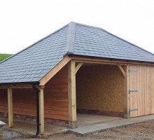 Timber Frame Building Devon