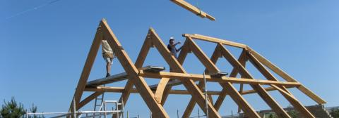 Beautiful Roofing Trusses